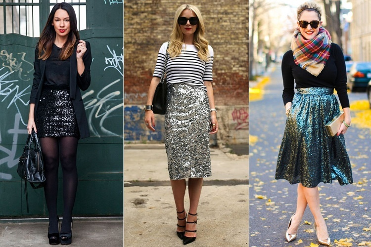 How To Style Your Sequin Skirt Outfit This Season | Newsvillengr