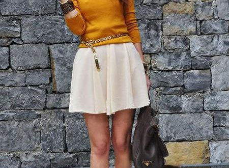 62317681130 20 Style Tips On How To Wear Skater Skirts